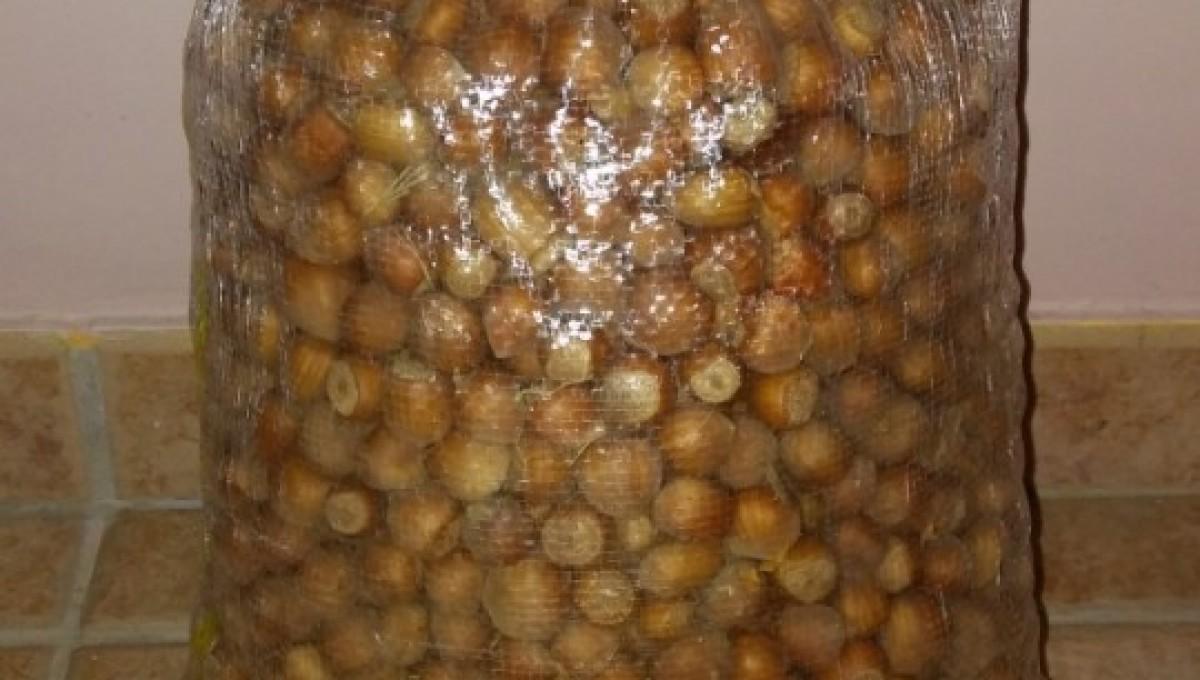 Saco de avellanas ecológicas 25 Kg